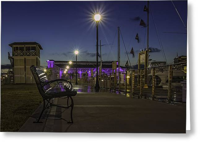 Take A Seat And Enjoy The View Greeting Card by Brian Wright