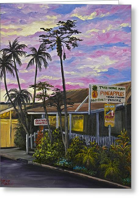 Take Home Maui Greeting Card
