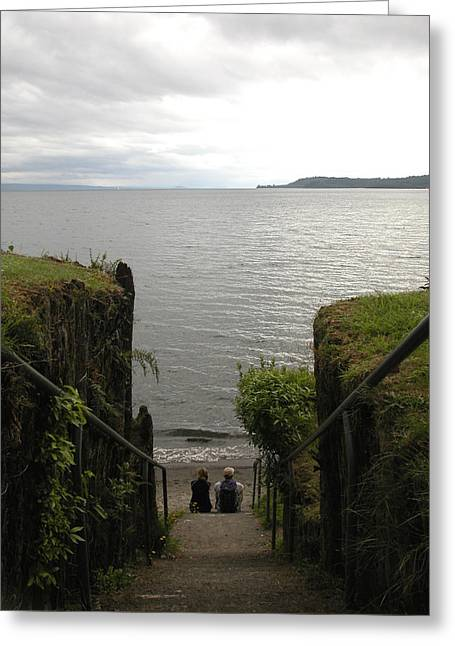 Take In The View Greeting Card