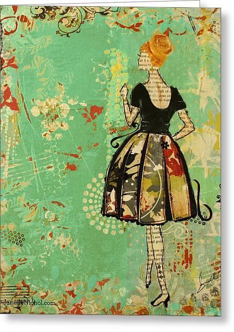 Take Me Away Greeting Card by Janelle Nichol