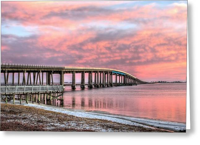 Take Me To Navarre Beach Greeting Card by JC Findley