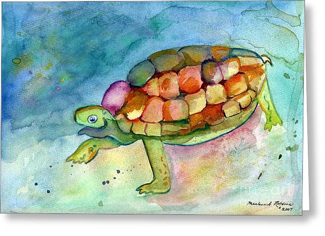 Take Your Time Greeting Card by Marlene Robbins