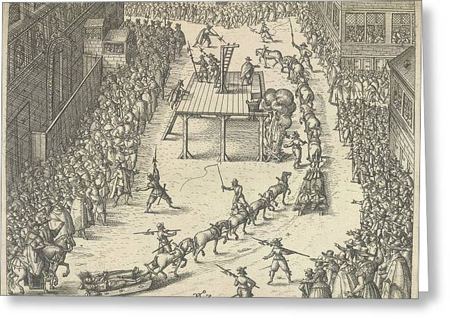 Taken To Execution Greeting Card by British Library