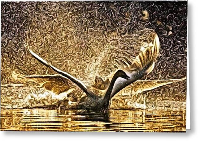 Taking Flight Greeting Card by Art Diamond