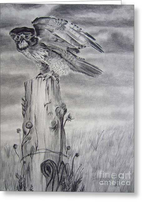 Taking Flight Greeting Card by Laurianna Taylor