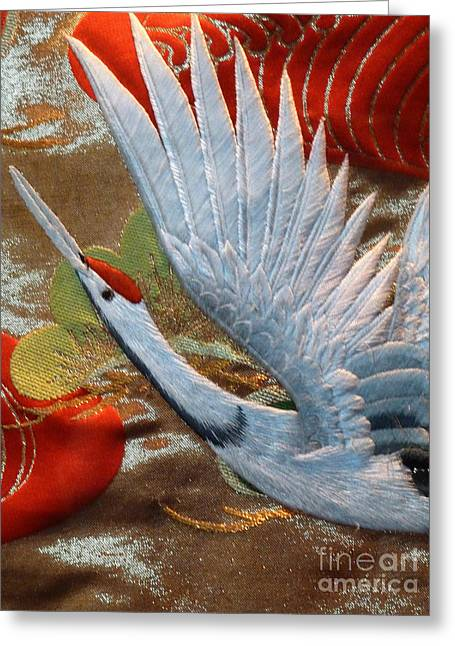Taking Flight Greeting Card by Newel Hunter