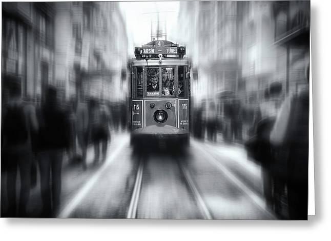 Taksim-tunel Greeting Card