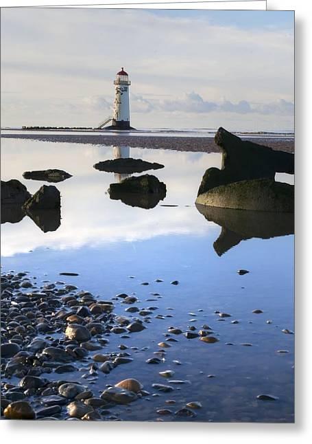 Talacer Abandoned Lighthouse Greeting Card