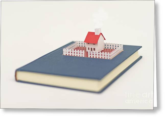 Tales From Home Greeting Card by Catherine MacBride
