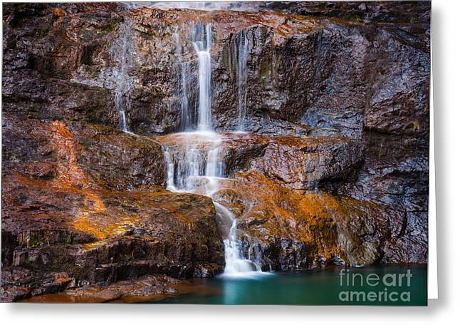Talisker Waterfall IIi Greeting Card