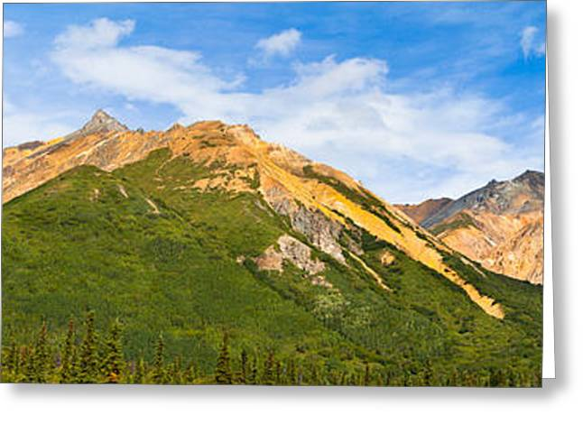 Talkeetna Mountains Greeting Card by Chris Heitstuman
