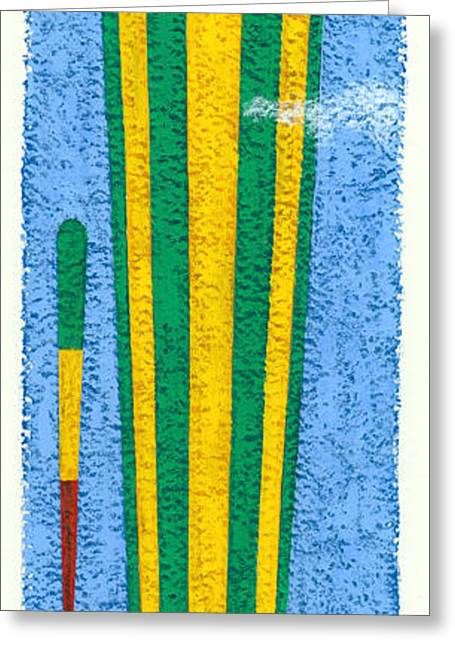 Tall Balloons Two Greeting Card by Brian James