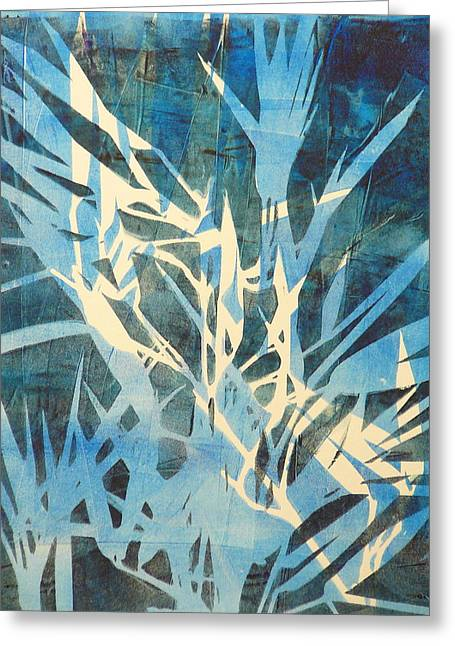 Tall Grass 2 Greeting Card by Valerie Lynch
