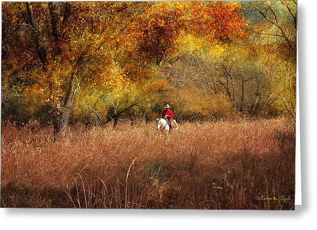 Tall Grass Greeting Card by Karen Slagle