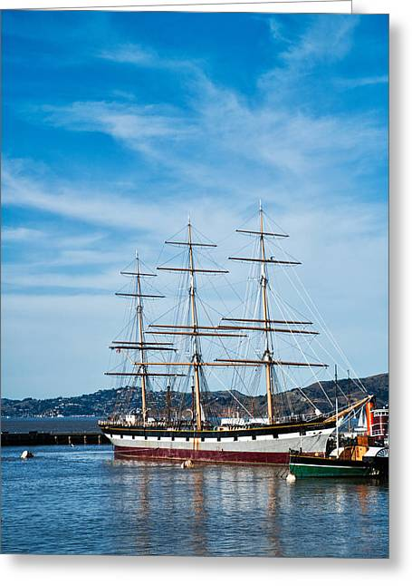 Tall Ship Balclutha San Francisco Greeting Card