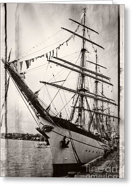 Tall Ship Greeting Card