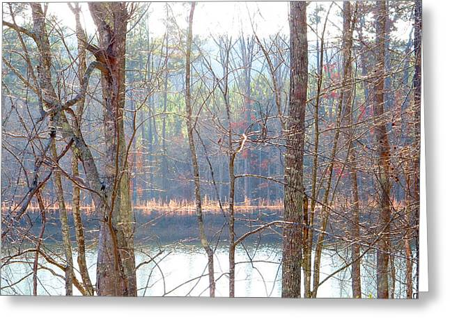 Tallapoosa Greeting Card by Keith May