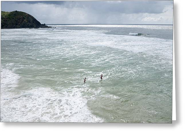Tallow Beach, Byron Bay Greeting Card