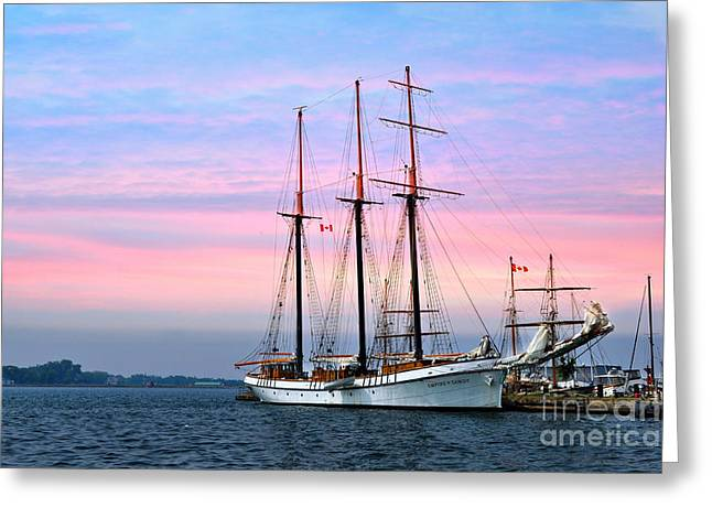 Tallship Empire Sandy Greeting Card