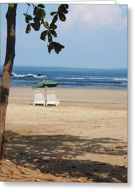 Tamarindo Is Waiting Greeting Card by Jim DeLillo