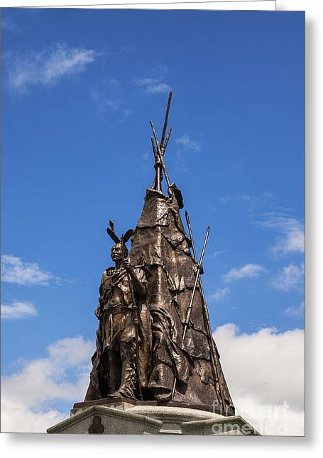 Tammany Regiment Monument At Gettysburg Greeting Card by John Greim