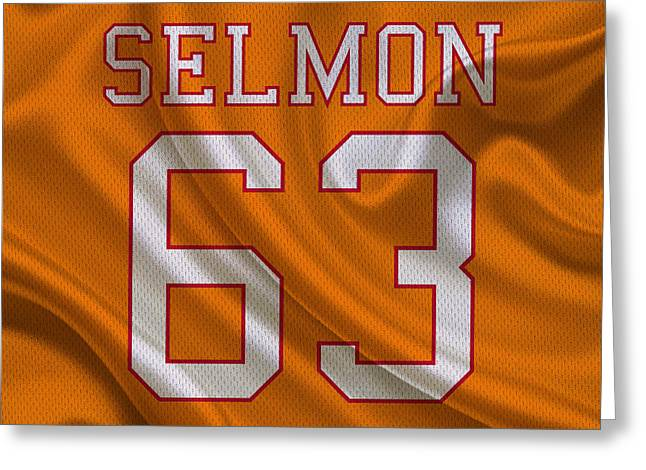Tampa Bay Buccaneers Leroy Selmon Greeting Card by Joe Hamilton