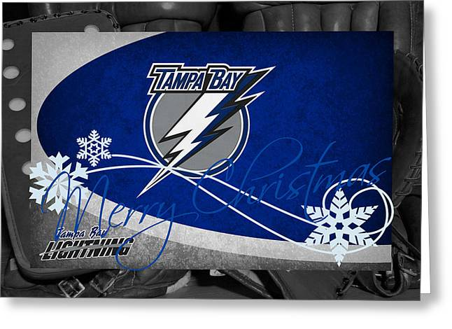 Tampa Bay Lightning Christmas Greeting Card