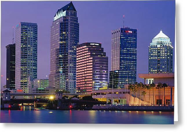 Tampa Fl Usa Greeting Card