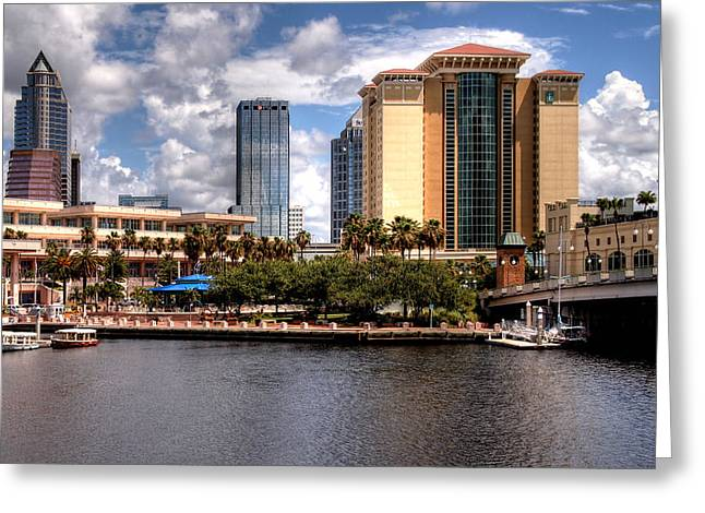 Greeting Card featuring the photograph Tampa by Jim Hill