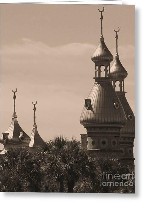 Tampa Minarets  Greeting Card