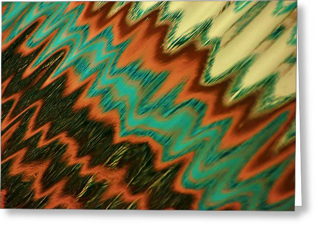 Greeting Card featuring the photograph Tampa Reflection Abstract II by Daniel Woodrum