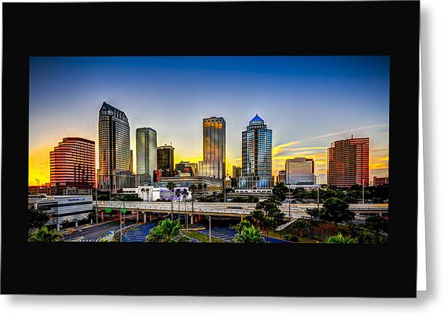 Tampa Skyline Greeting Card