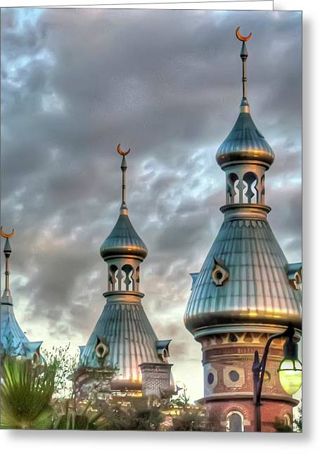 Tampa University Minarets Greeting Card