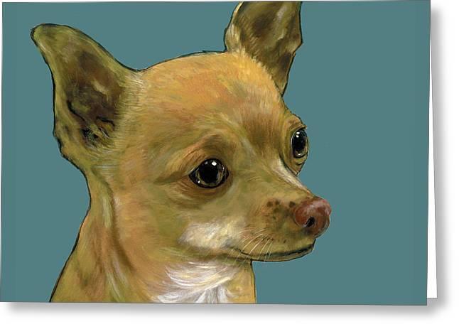 Tan Chihuahua Greeting Card