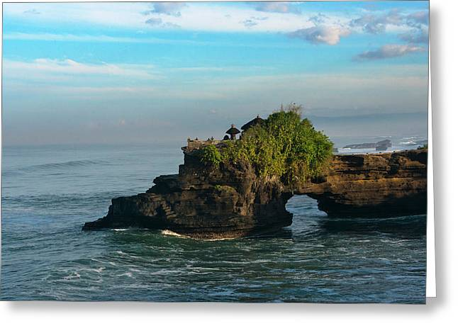 Tanah Lot At Sunrise Greeting Card