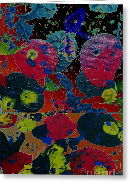 Greeting Card featuring the painting Tangent by Jacqueline McReynolds