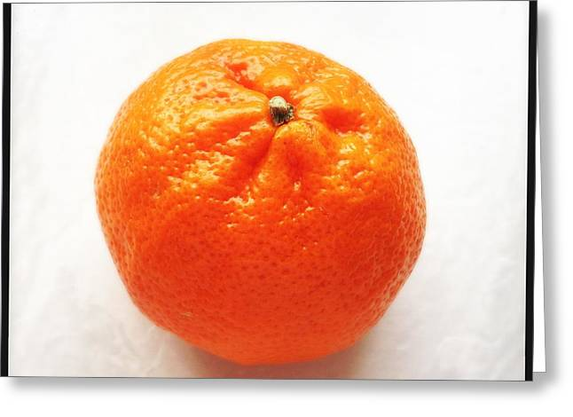 Tangerine Greeting Card