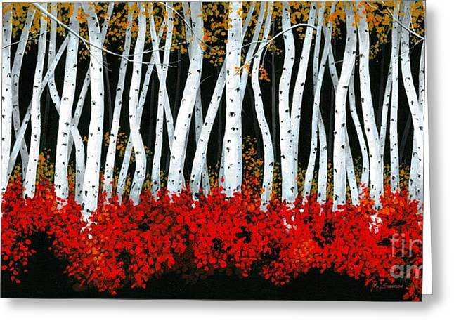 Tanglewood Greeting Card by Michael Swanson