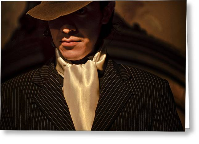 Greeting Card featuring the photograph Tango - El Hombre by Michel Verhoef