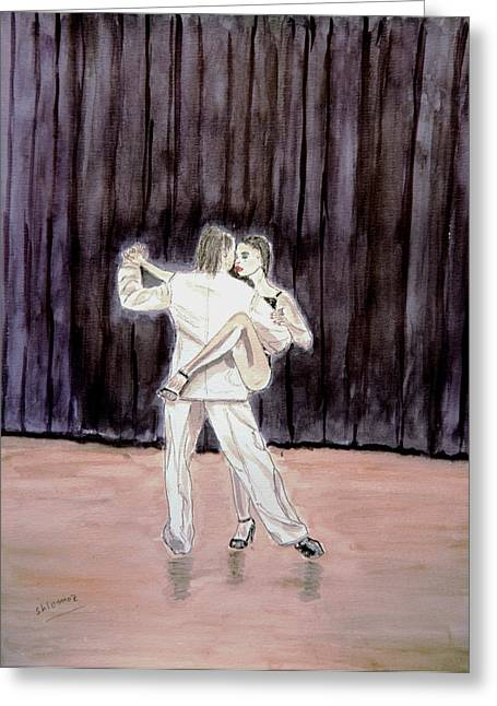 Tango Passion. Greeting Card