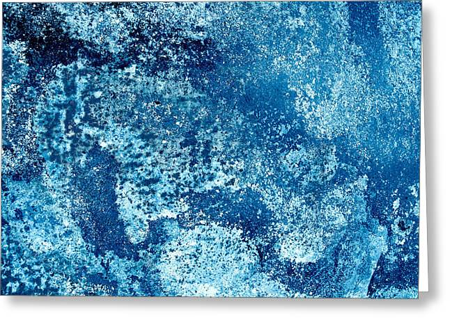 Tango With Blue Greeting Card