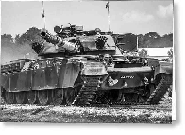 Tanks Greeting Card by Chris Smith