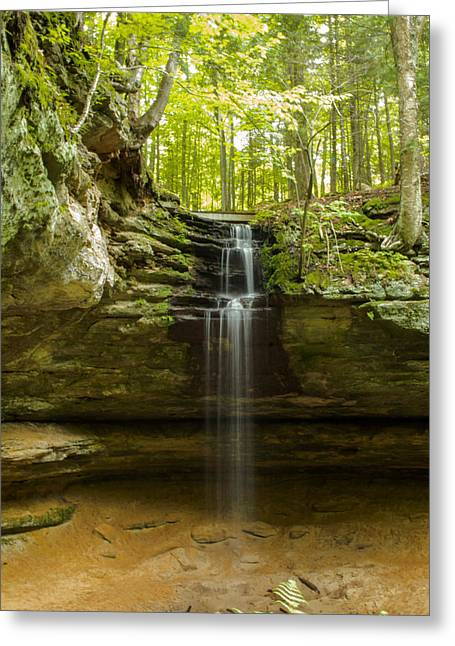 Tannery Falls Greeting Card