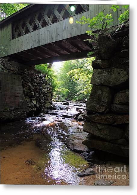 Tannery Hill Bridge Greeting Card