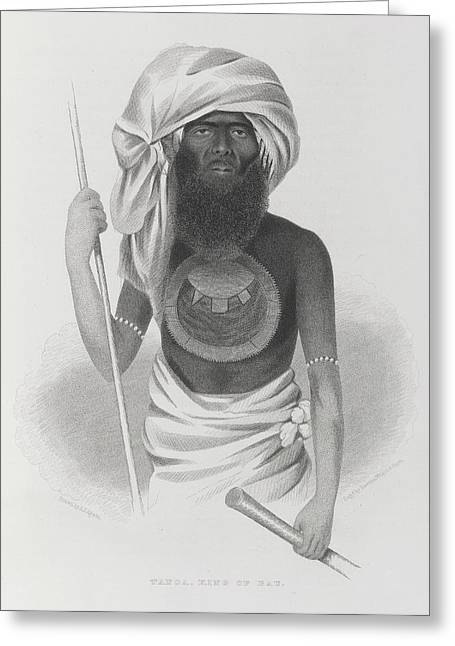 Tanoa Greeting Card by British Library