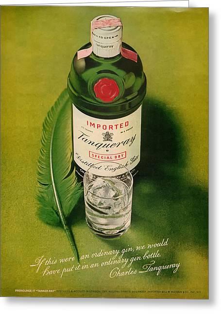 Tanqueray Gin Greeting Card