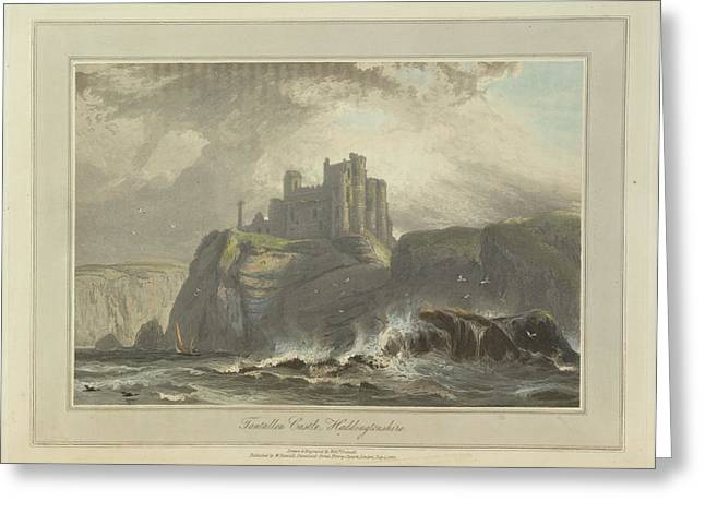 Tantallon Castle Greeting Card by British Library