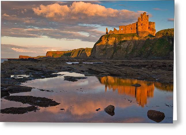 Tantallon Castle Greeting Card by David Ross