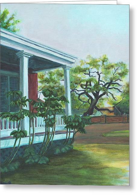 Tante Huppe Inn Greeting Card by Ellen Howell