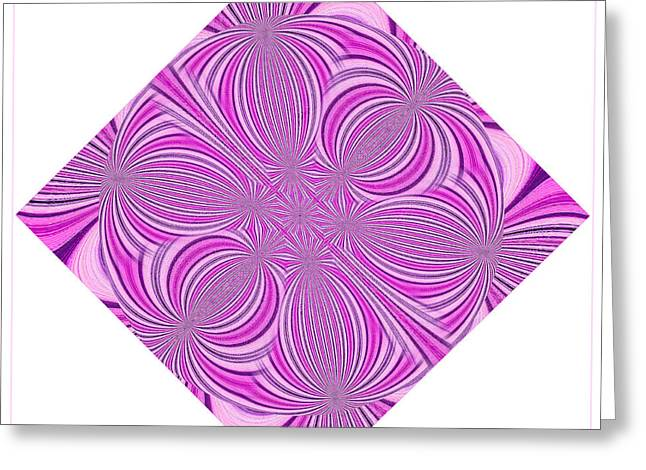 Tantric Pink Greeting Card
